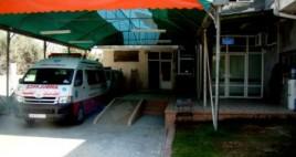 مستشفى الجزائري  في خان يونس